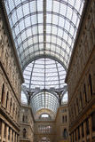Seeing Naples. Italy-Naples-The gallery Umberto I Stock Image