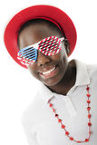 Seeing Through the Red, White and Blue Stock Photography
