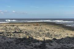 Seeküste auf Fuertaventura lizenzfreie stockfotografie