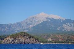 Seeküste, die Türkei. stockfotografie