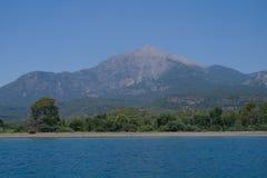 Seeküste, die Türkei. lizenzfreies stockfoto