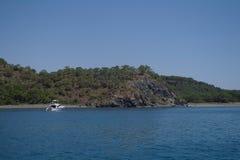 Seeküste, die Türkei. stockbilder