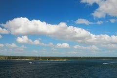 Seeküste La Romana, Dominikanische Republik Stockfoto