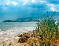 Seeküste von Kreta Lizenzfreie Stockfotografie