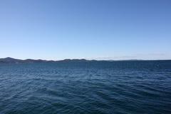 Seeküste in Zadar Kroatien Lizenzfreie Stockbilder