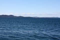 Seeküste in Zadar Kroatien Stockfoto