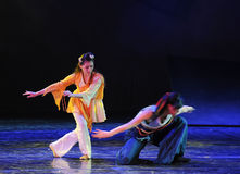Seek-The dance drama The legend of the Condor Heroes Stock Photography