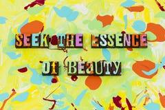 Seek essence beauty love faithful reliable trust. Beautiful people relationship believe skin care cream honesty trust positive attitude stock photo