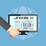 Seek a job Royalty Free Stock Photography