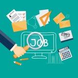 Seek a job Royalty Free Stock Photos