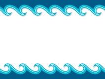 Seekarikaturlandschaft Stockfoto