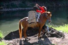 A seeker Ladu Ladu or sand Stock Image