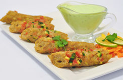 Seekh kabab Stock Image
