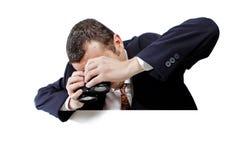 Seeking promotion Stock Photography