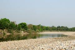 Bardia National Park in Nepal stock photo