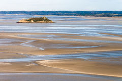 Seeküste bei Ebbe Stockfotos