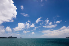 Seelandschaft Lizenzfreies Stockfoto