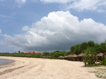 Seelandschaft von einer Ozeanküste Lizenzfreies Stockfoto