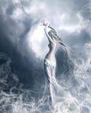 Seele ein Nebel Stockfotografie