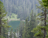 Seeleinsee. Hiking through the Bavarian Alps of Southern Germany Royalty Free Stock Images