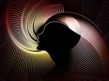 Seelen-Geometrie-Zusammensetzung Stockbilder