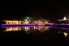 Seema Malaka Temple di Colombo nello Sri Lanka Immagini Stock Libere da Diritti