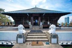 Seema Malaka Temple i Colombo Arkivfoto
