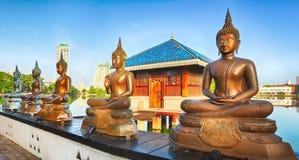 Seema Malaka temple. Panorama Stock Image