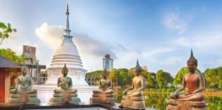 Seema Malaka temple. Panorama Stock Photos