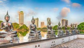 Seema Malaka temple. Panorama Royalty Free Stock Photos