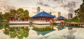 Seema Malaka temple. Panorama Royalty Free Stock Images