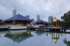 Seema Malaka Temple von Colombo in Sri Lanka lizenzfreie stockfotografie