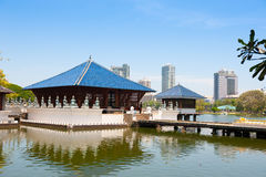 Seema Malakaya Gangarama Temple Royalty Free Stock Photo