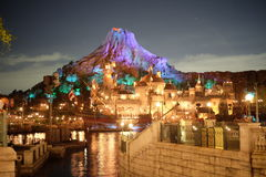 Seemittelmeerhafen Tokyos Disney Stockbilder