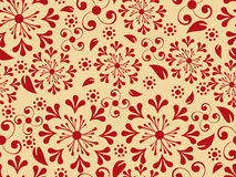 Seemless Floral Pattern Stock Image