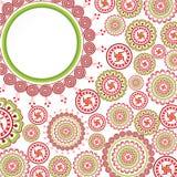 Seemless pattern vintage Stock Photography