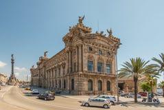 Seemuseum in Barcelona Stockfotos
