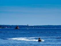 Seemuseum von der Stadtinsel lizenzfreies stockfoto