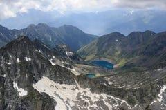 Seen auf Adamello-Strecke, Italien Lizenzfreie Stockfotografie