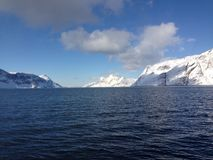 Seen bei Grönland Stockbilder