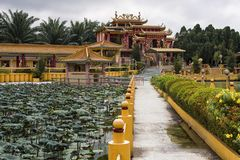 Seen Hock Yeen, Confucius Temple, Chemor, Malaysia. Confucius Temple of Seen Hock Yeen is well-known for bringing luck to students who are going to sit for exams stock image