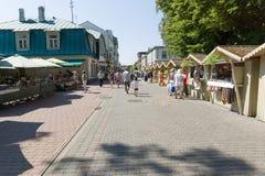 Seen summer Jurmala Stock Photos