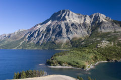 Seen und Berg Stockfotos