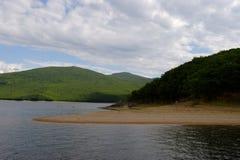 Seen und Berge Stockfotografie