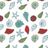 Seenahtloses Muster Stockbilder