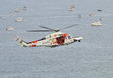 Seenotrettung. lizenzfreie stockbilder