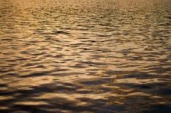 Seeozean-Wasserzusammenfassung Stockfoto