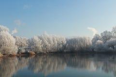 Seepark à Fribourg, Allemagne image libre de droits