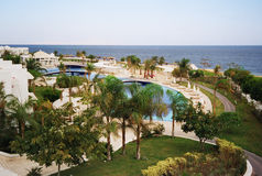 Seerücksortierungpark. Ägypten stockfoto