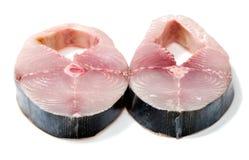 seer σκουμπριών βασιλιάδων ψαριών aka Στοκ Φωτογραφία